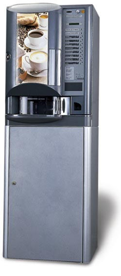 Brio Table Top Coffee Vending Machines By Zanussi And